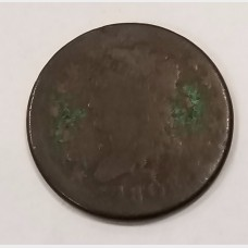 1808 Classic Head Large Cent Penny 1¢ Good