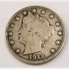 1912-S Liberty V Nickel F RAW
