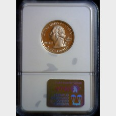 1999-S Silver Proof State Quarter NJ NGC Ultra Cameo PF69