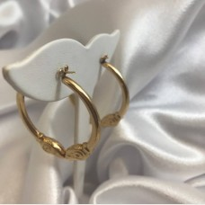Aries Ram Hoop Earrings Regular