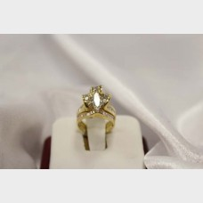 Ladies' Marquise Diamond Cluster Ring