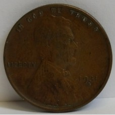 1931-S Lincoln Wheat Reverse Small Cent AU RAW