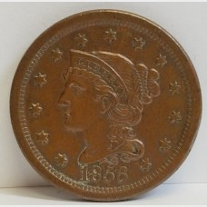 1856 Large Cent Almost Uncirculated