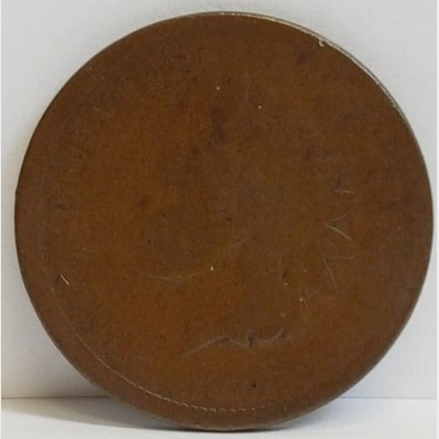 """1872 Indian Head Small Cent G """"BOLD N"""""""