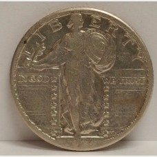 1924-S Standing Liberty Quarter XF