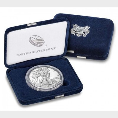 2017  American Eagle 1 ozt Silver Proof Coin