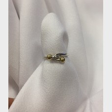 Tiffany & Co. Sterling Silver & 18K Knot Ring
