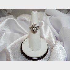 Ladies Marquise 1 Carat Diamond Ring