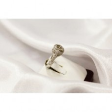 Ladies' Statement Platinum Ring